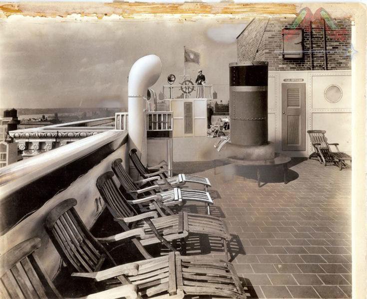 London Terrace Towers History